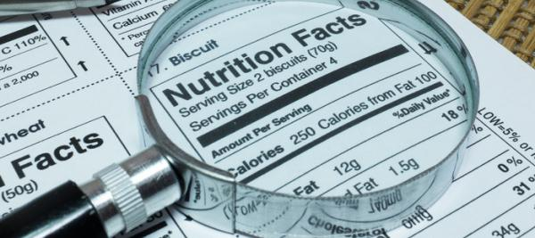 'Low content' claims on food labels may mislead