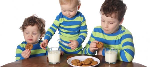 Toddlers with a sweet vs. salty tooth more likely to gain weight