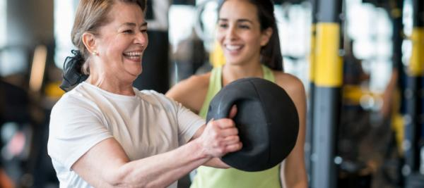 Weight-training may help reduce hot flashes