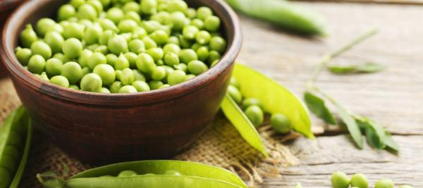 Sugar Snap and Green Peas with Lemon and Mint