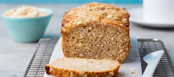 Applesauce Oat Loaf