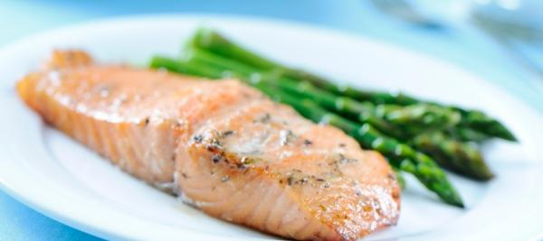 Wasabi and Ginger Baked Salmon