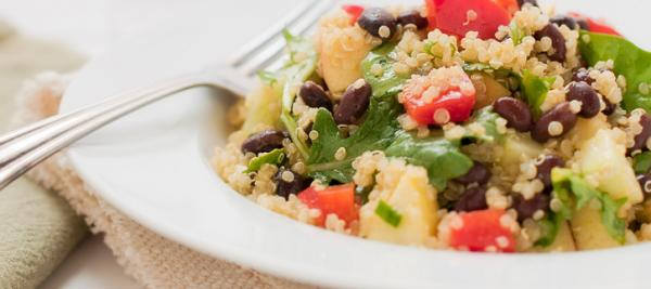 Black Bean Millet Salad
