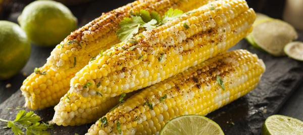Grilled Corn on the Cob with Cajun and Lime Rub