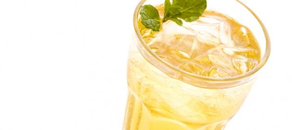 Lemon Green Tea Iced Tea