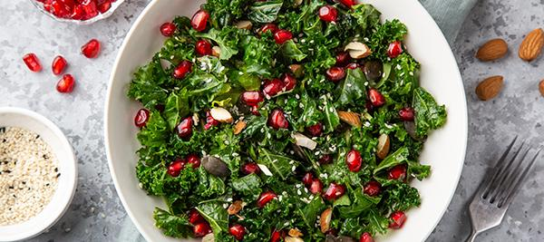 Pomegranate Garden Salad