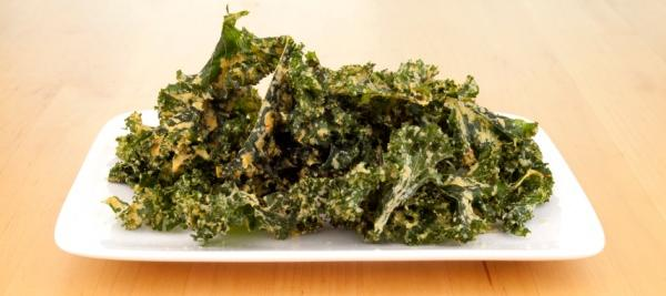 Kale Chips with Sea Salt