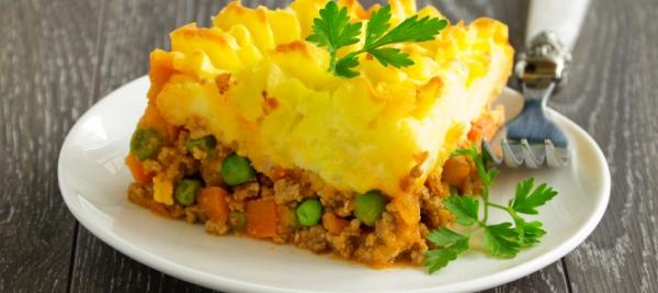Meatless Baked Potato Pie