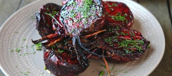 Roasted Beets with Honey Balsamic Glaze