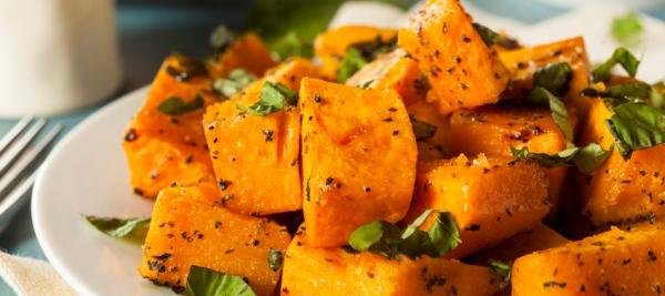 Roasted Gingered Butternut Squash