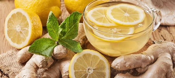 Lemon Ginger Infusion
