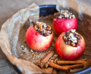 Cinnamon Pecan Baked Apples