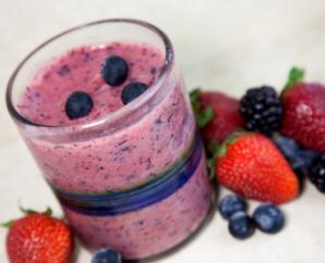 Blueberry Raspberry Smoothie