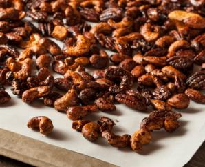Spicy Candied Walnuts