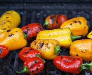 Balsamic Grilled Bell Peppers