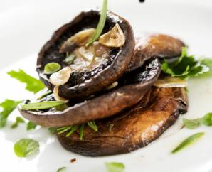 Grilled Balsamic Portabello Mushrooms