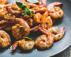 Sautéed Shrimp with Ginger and Lime